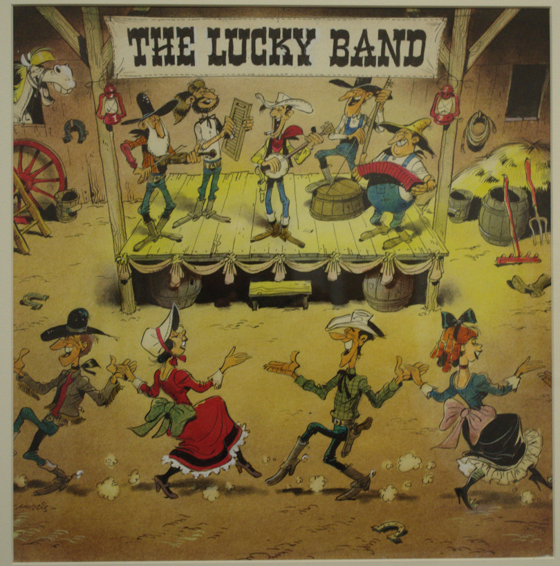 Morris, The Lucky Band, 1977