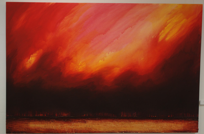 Richard A. Cox, Red Sky, 2003
